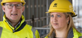 Image of two HSE inspectors