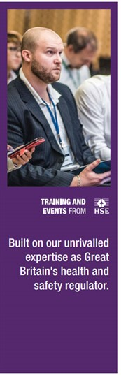 Training and Events from HSE: Built on our unrivalled expertise as Great Britain's health and safety regulator.
